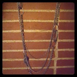 Premier Designs Multi Strand Chain Necklace